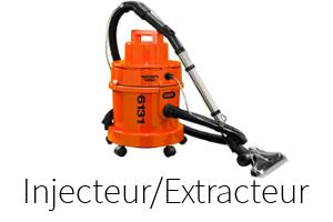 Comparatif injecteur extracteur
